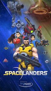 Spacelanders: 3D Sci-Fi Shooter RPG Mod Apk 1.5.1 (God Mode) 8