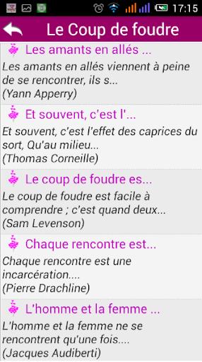 Meilleures Citations d'Amour screenshots 2
