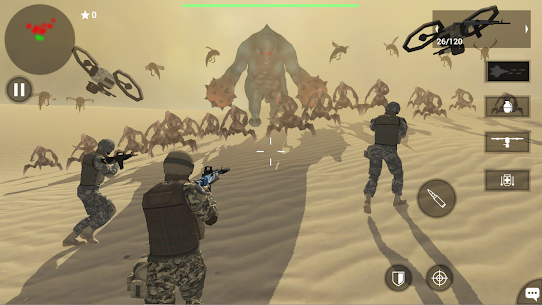 Earth Protect Squad: Third Person Shooting Mod Apk (Free Shopping) 2.04.32b 1