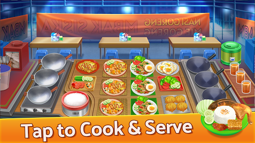 Selera Nusantara : Chef Restaurant Cooking Games apkpoly screenshots 2