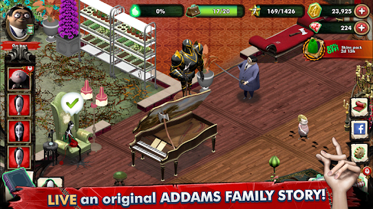 Addams Family Mystery Mansion The Horror House MOD (Gems/Coins) 1