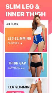 Leg Workouts for Women - Slim Leg & Burn Thigh Fat Screenshot