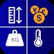 単位換算そして计算器 - 単位変換と測定