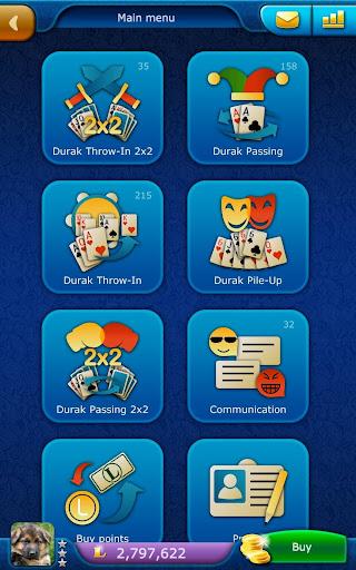 Durak LiveGames - free online card game  screenshots 9