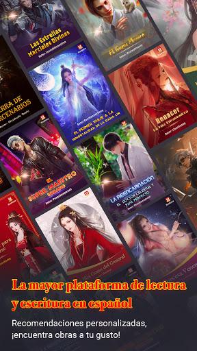 Bookista - La mayor app de novelas web en espau00f1ol android2mod screenshots 1