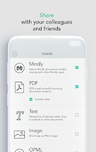 Mindly Mod Apk (mind mapping) (Unlocked Paid Features) 4