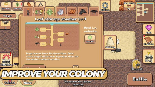 Pocket Ants: Colony Simulator 0.0574 screenshots 2