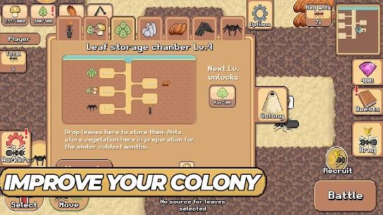 Pocket Ants: Colony Simulator 0.0606 MOD APK [INFINITE MONEY] 2
