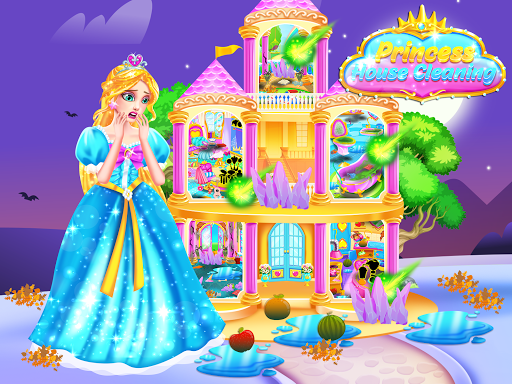 Princess Castle House Cleanup - Cleaning for Girls  screenshots 2