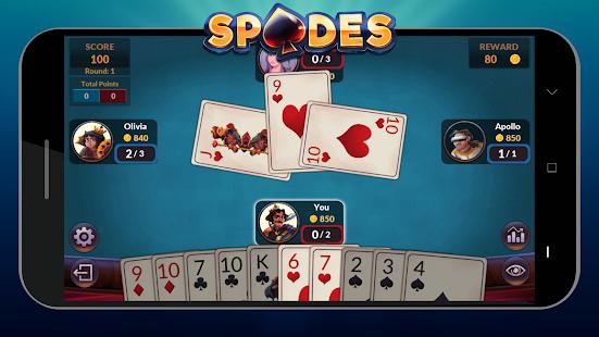 Spades - Offline Free Card Games screenshots 7