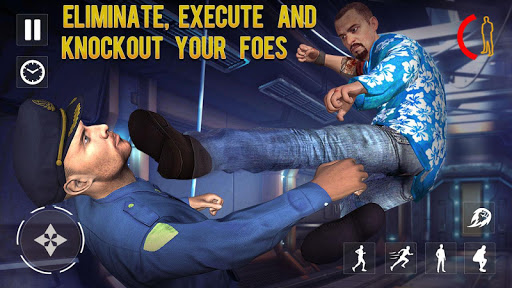 Code Triche gangster prison evasion: jeux d'évasion la prison APK MOD (Astuce) screenshots 1
