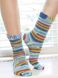 かぎ針編みソックスのおすすめ画像2