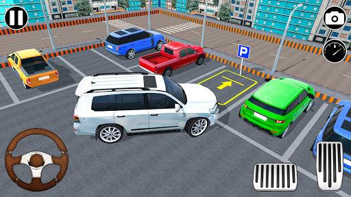 Modern Prado car parking 3D u2013 Free Car games 2021  Screenshots 1