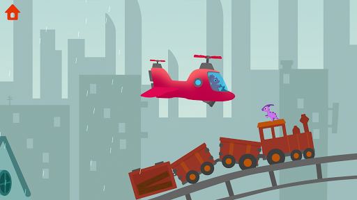 Dinosaur Helicopter - Games for kids  screenshots 8
