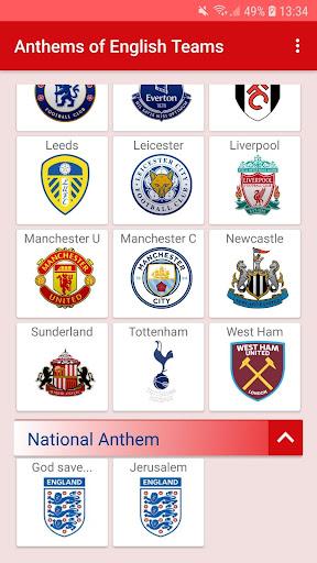 anthems - premier league screenshot 3
