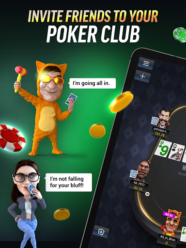 PokerBROS: Play Texas Holdem Online with Friends  Screenshots 9
