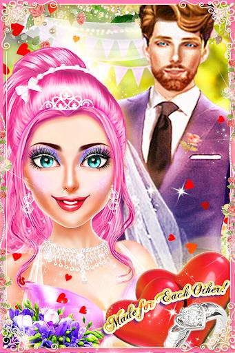 MakeUp Salon Princess Wedding - Makeup & Dress up 3.1.7 screenshots 1