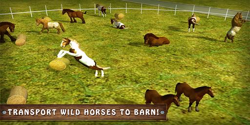 Wild Horse Zoo Transport Truck Simulator Game 2018 1.8 screenshots 5