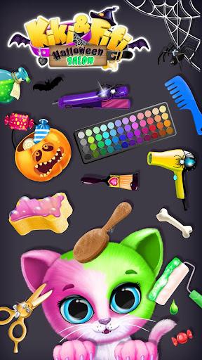 Kiki & Fifi Halloween Salon - Scary Pet Makeover 5.0.11508 screenshots 1