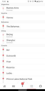 Pin Traveler: World Travel Map & Trip Tracker App