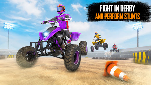 ATV Quad Bike Stunts: 4x4 Offroad Demolition Derby android2mod screenshots 2