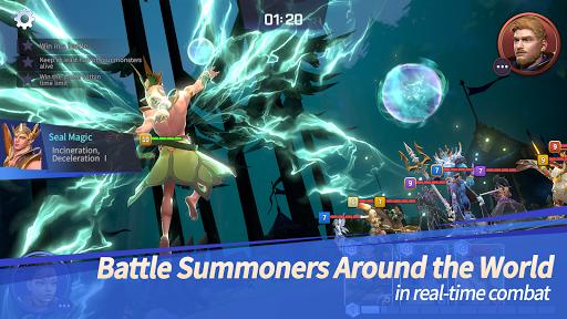 Summoners War: Lost Centuria apktreat screenshots 2