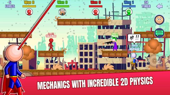 Stick Fight Online: Multiplayer Stickman Battle Mod Apk 2.0.36 (Unlimited Money) 7