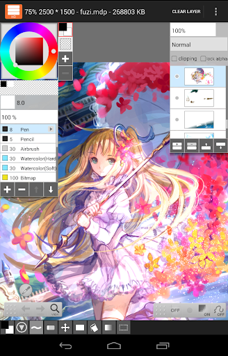 Download APK: LayerPaint HD v1.10.5 [Paid]