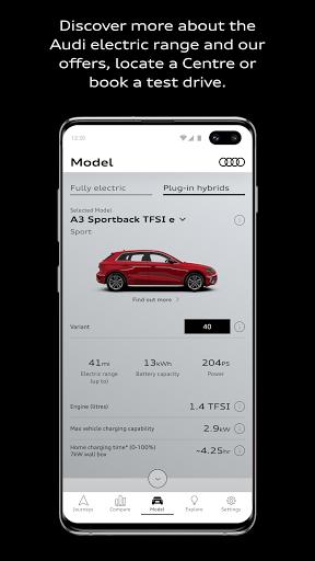 EV&me by Audi  screenshots 4
