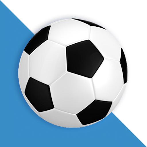 Logo de Fútbol resultados en directo, una de las mejores apps de estadísticas de fútbol.