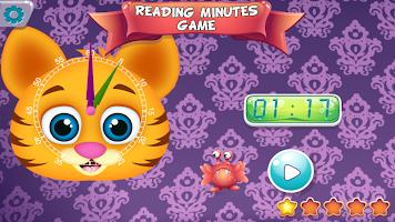 Cute Monsters Teach Time
