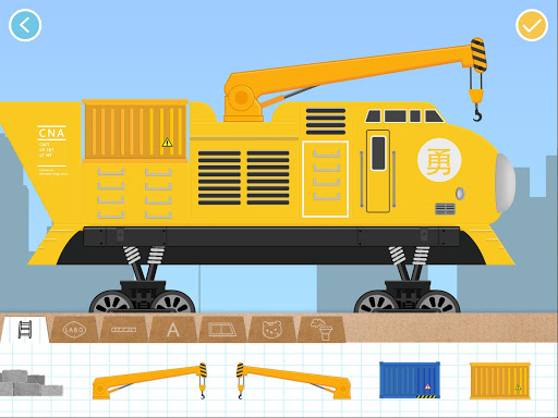 Labo Brick Train Build Game 4 Kids, Toodlers, Baby 1.7.346 Screenshots 11