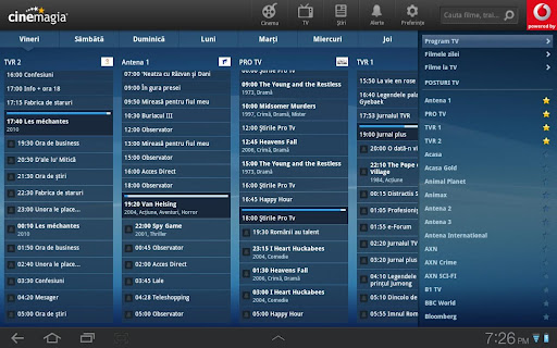 Cinemagia Tab - program TV For PC Windows (7, 8, 10, 10X) & Mac Computer Image Number- 8