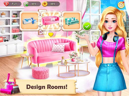 Home Design: Dream House Games for Girls apklade screenshots 2