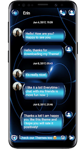 SMS Theme Sphere Blue For Pc – (Free Download On Windows 7/8/10/mac) 1