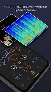 Decibel X PRO: Sound Meter dBA, Noise Detector APK 2