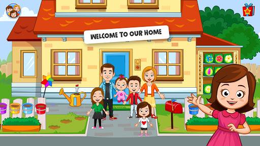 My Town: Home Dollhouse: Kids Play Life house game  screenshots 1