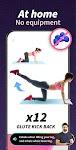 screenshot of Buttocks Workout - Hips, Legs & Butt Workout