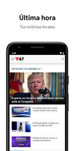 Telemundo 47 6.13 screenshots 1