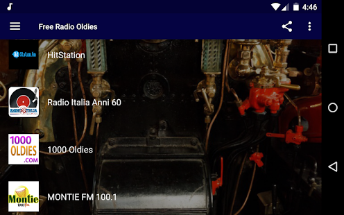 Free Radio Oldies Screenshot