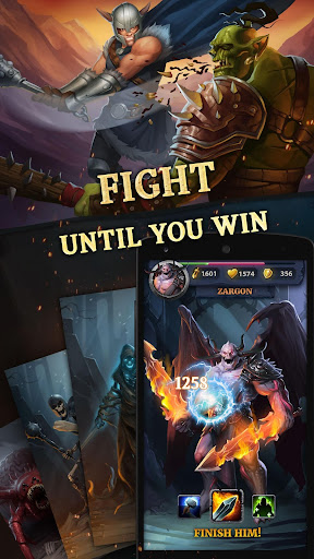 Age of Revenge RPG: Heroes, Clans & PvP android2mod screenshots 1