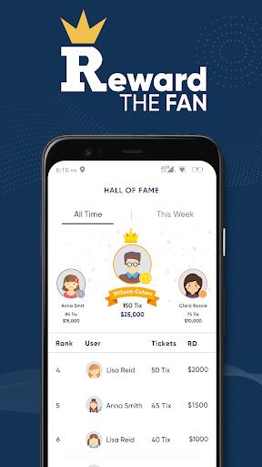 Reward The Fan Trivia apktreat screenshots 2
