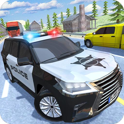 Police Car Traffic Icon