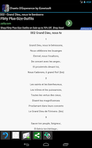 Chants D'Esperance with Tunes 1.88 APK with Mod + Data 3