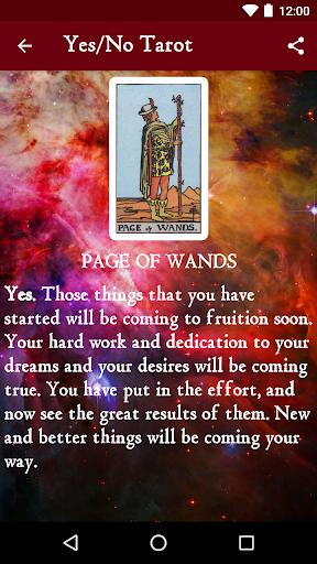 Yes No Tarot Horoscope