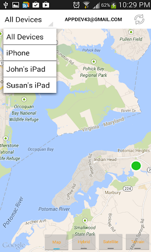 Find iPhone, Android Devices, xfi Locator Lite screenshot 2