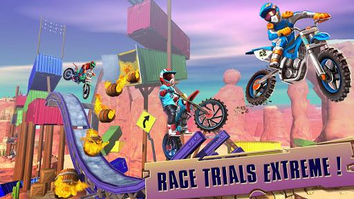 Télécharger course vélo d'essai: xtreme stunt bike jeux course mod apk screenshots 5