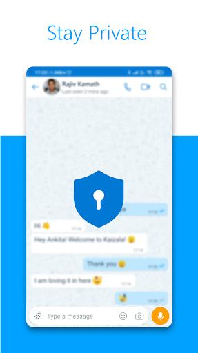 Microsoft Kaizala – Chat, Call & Work modiapk screenshots 1