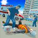 市の緊急救急車運転救助シミュレーター - Androidアプリ