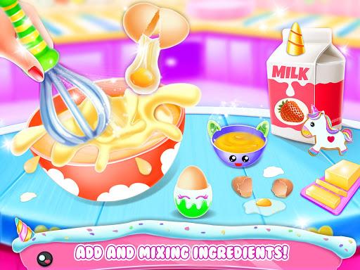 Unicorn Donut Maker: Dessert Cooking Mania  Screenshots 7